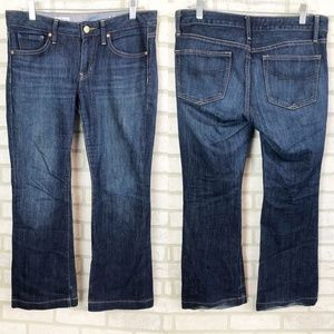 GAP Long and Lean Dark Wash Trouser Jeans Size 4